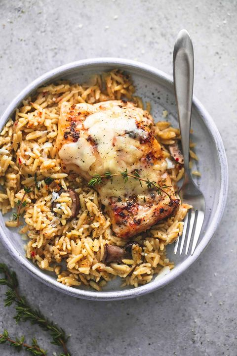 easy slow cooker chicken thigh recipes parmesan orzo
