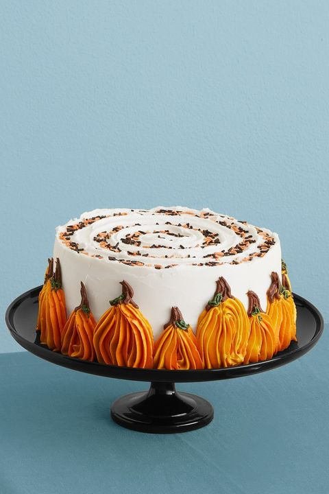 easy thanksgiving desserts pumpkin chocolate chip cake