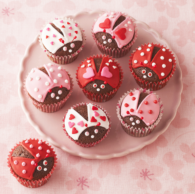 40 Cute Valentine S Day Cupcakes Easy Cupcake Recipes To