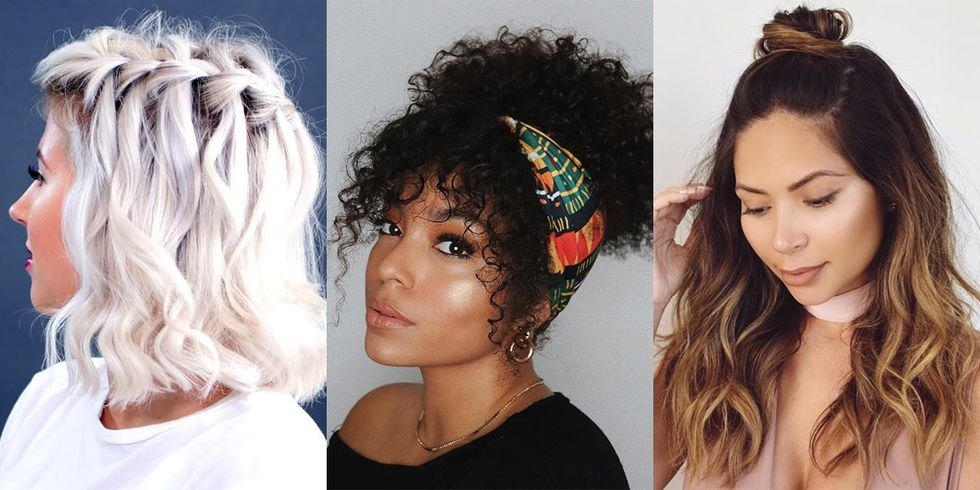 12 Absurdly Easy Hairstyles That Take Only 10 Minutes