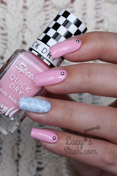 easter nail designs - pastel patterns