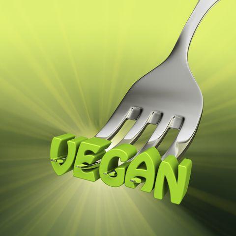 Eating Vegan Food