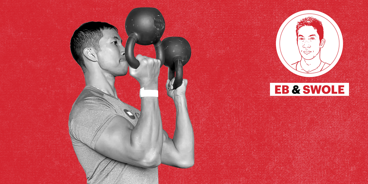 This Kettlebell Move Builds Explosive Forearms