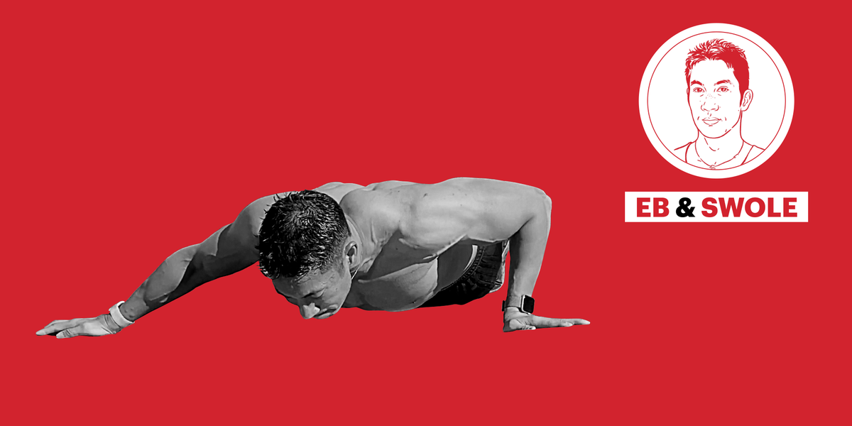 This Pushup Delivers a Vicious At-Home Chest Pump