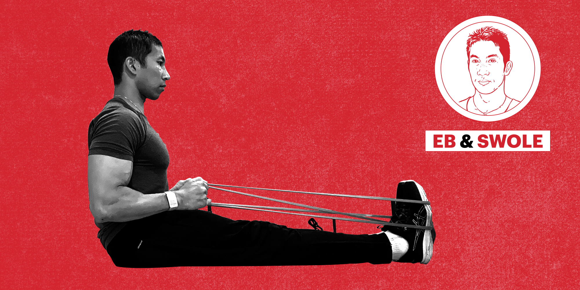 Build Your Back and Biceps With a resistance Band