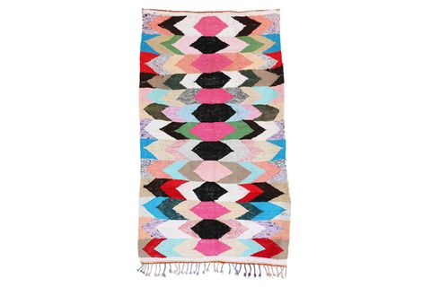 Pattern, Pink, Turquoise, Teal, Aqua, Colorfulness, Orange, Rectangle, Peach, Visual arts,