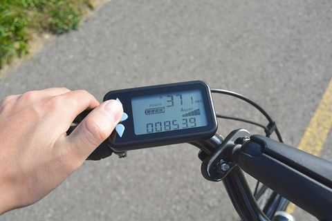 E-bike speeds