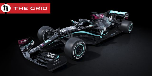2020 mercedes amg formula 1 black livery