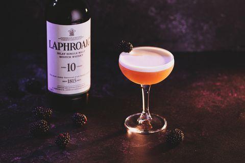 SmokyFrenchMartini cocktail recipe