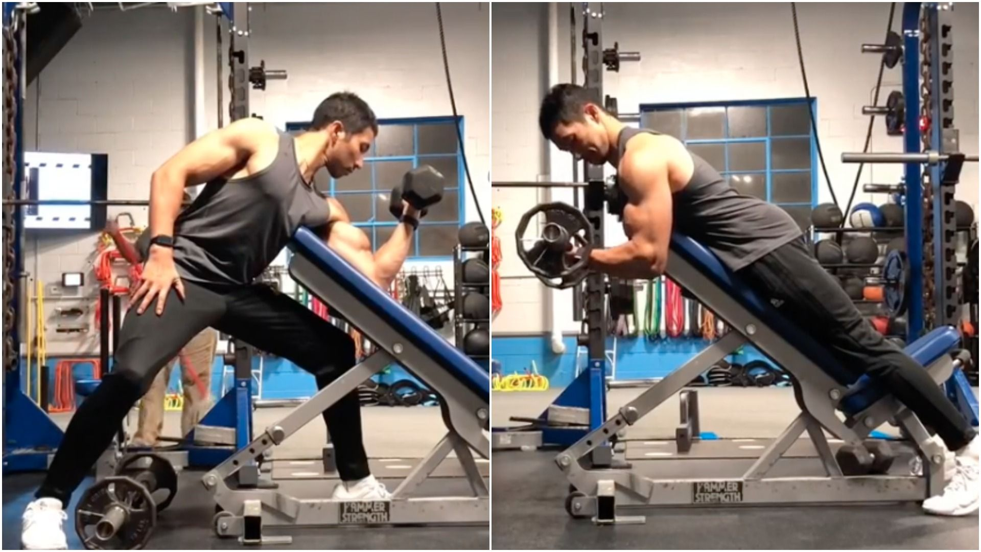 rutina para marcar biceps