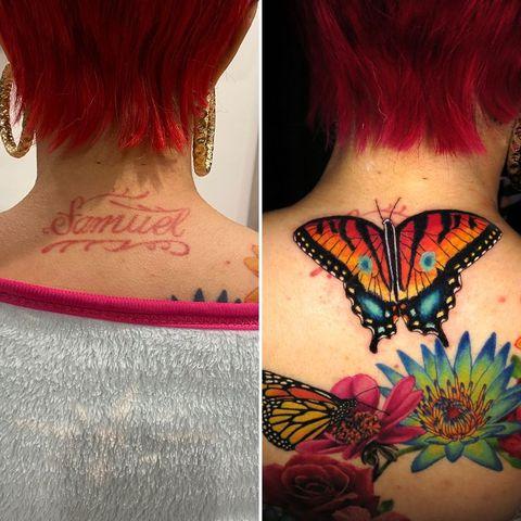 cardi b tattoo