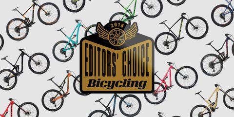 2018 Mountain Bike Editors' Choice Winners