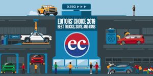 Editors' Choice Awards – Trucks, SUVs, and Vans