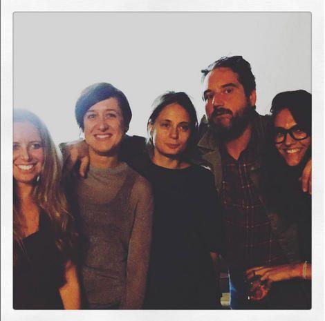 Eccoci! Da sx: Marta Stella, Paola Di Marcantonio, Manuela Ravasio, Davide Burchiellaro e Barbara Digiglio courtesy photo Instagram