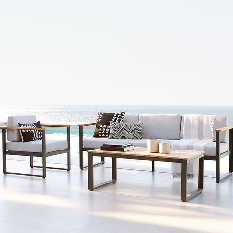 mobiliario de exterior, colección teguise, del catálogo vida al aire libre de el corte inglés