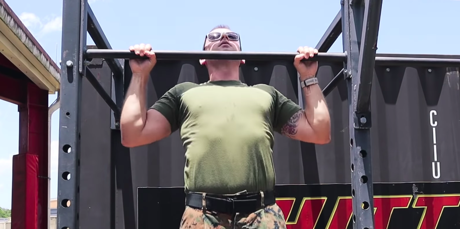 This U.S. Marine Shared His Best Advice for Improving Your Pullups - menshealth.com