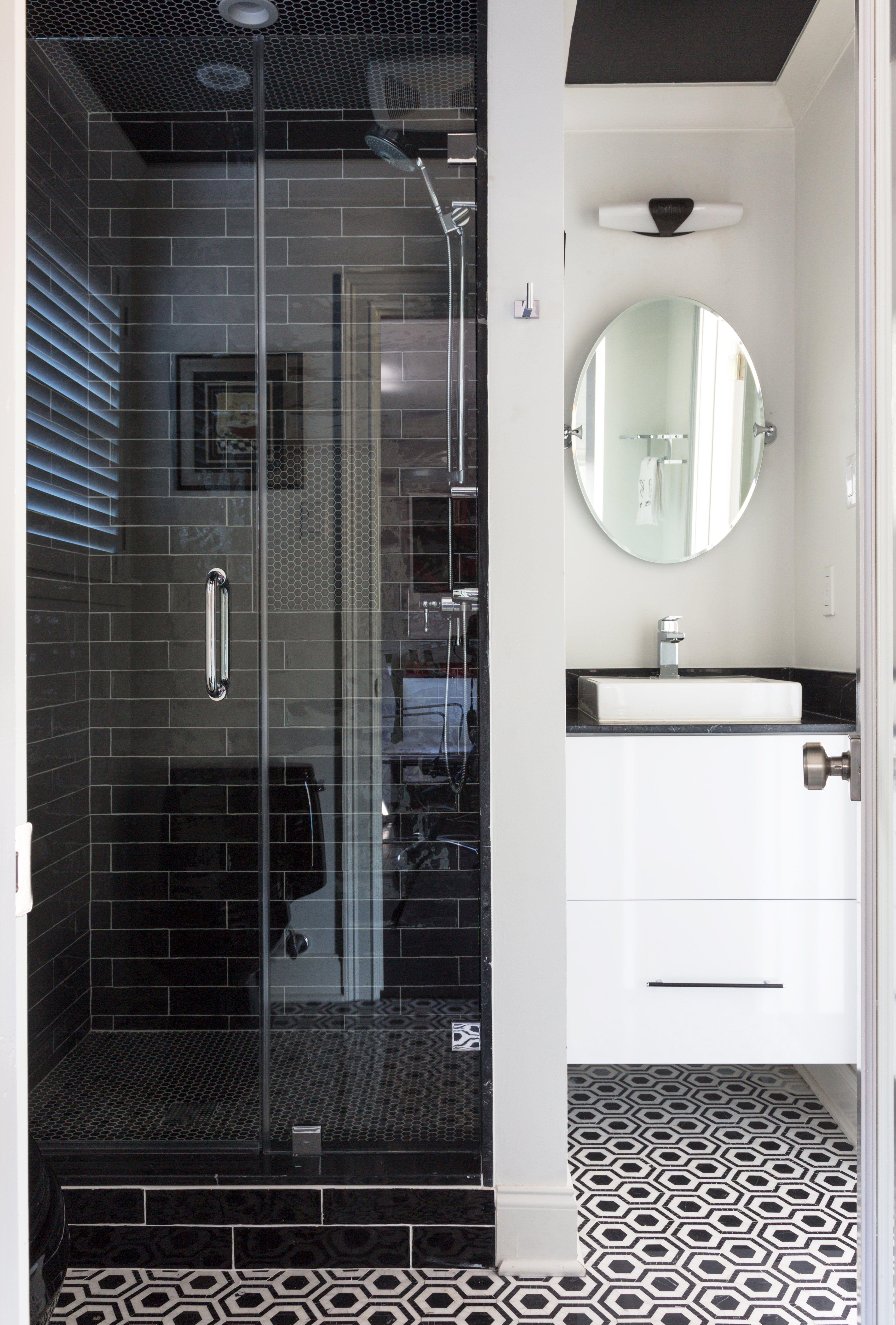 Sara Essex Bradley. Mod Marble. A Guest Bathroom ...