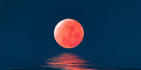 Súper luna de sangre