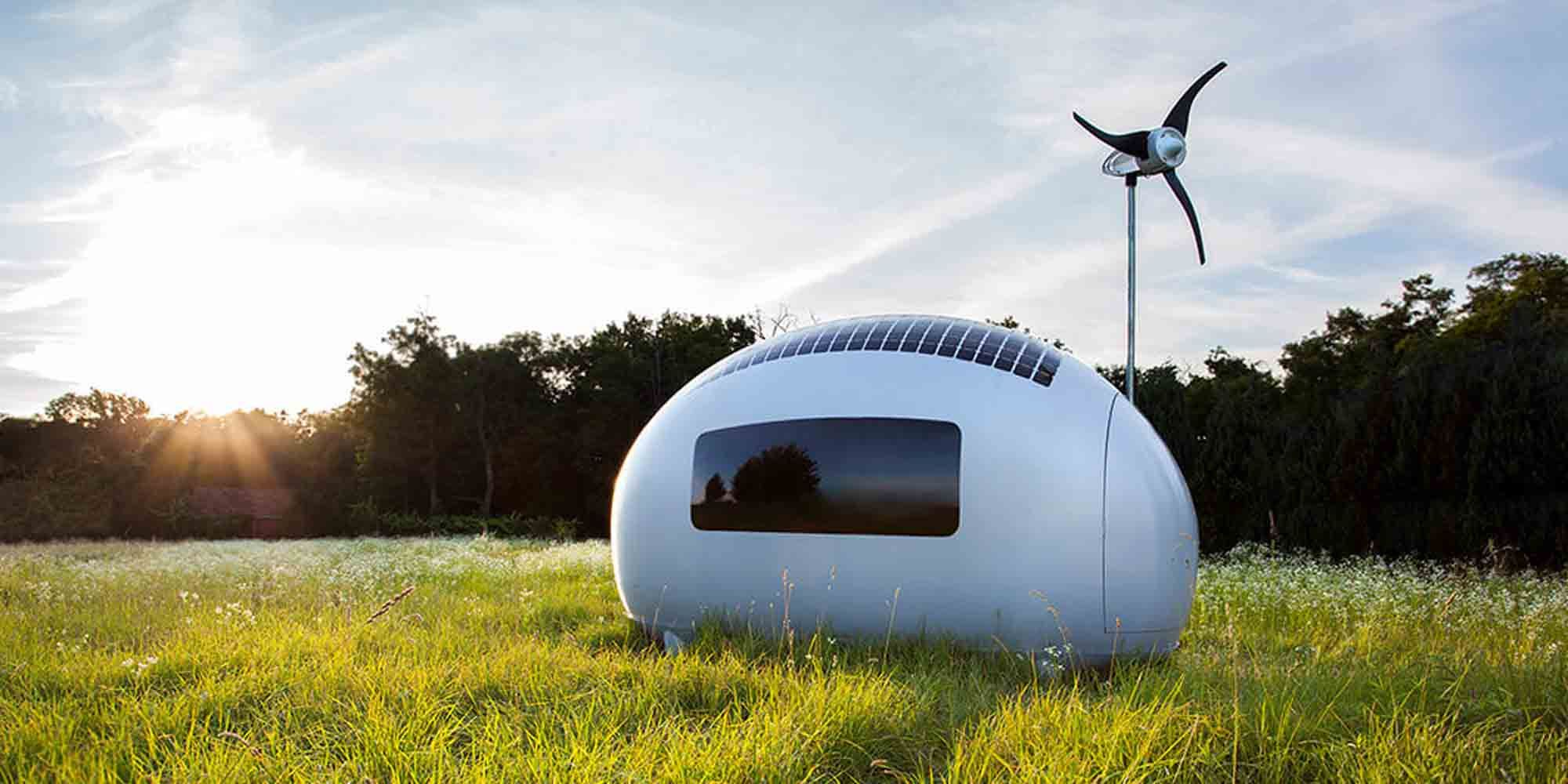Ecocapsule tiny house