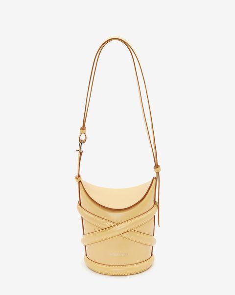 alexander mcqueen yellow lemon high end luxury designer handbag