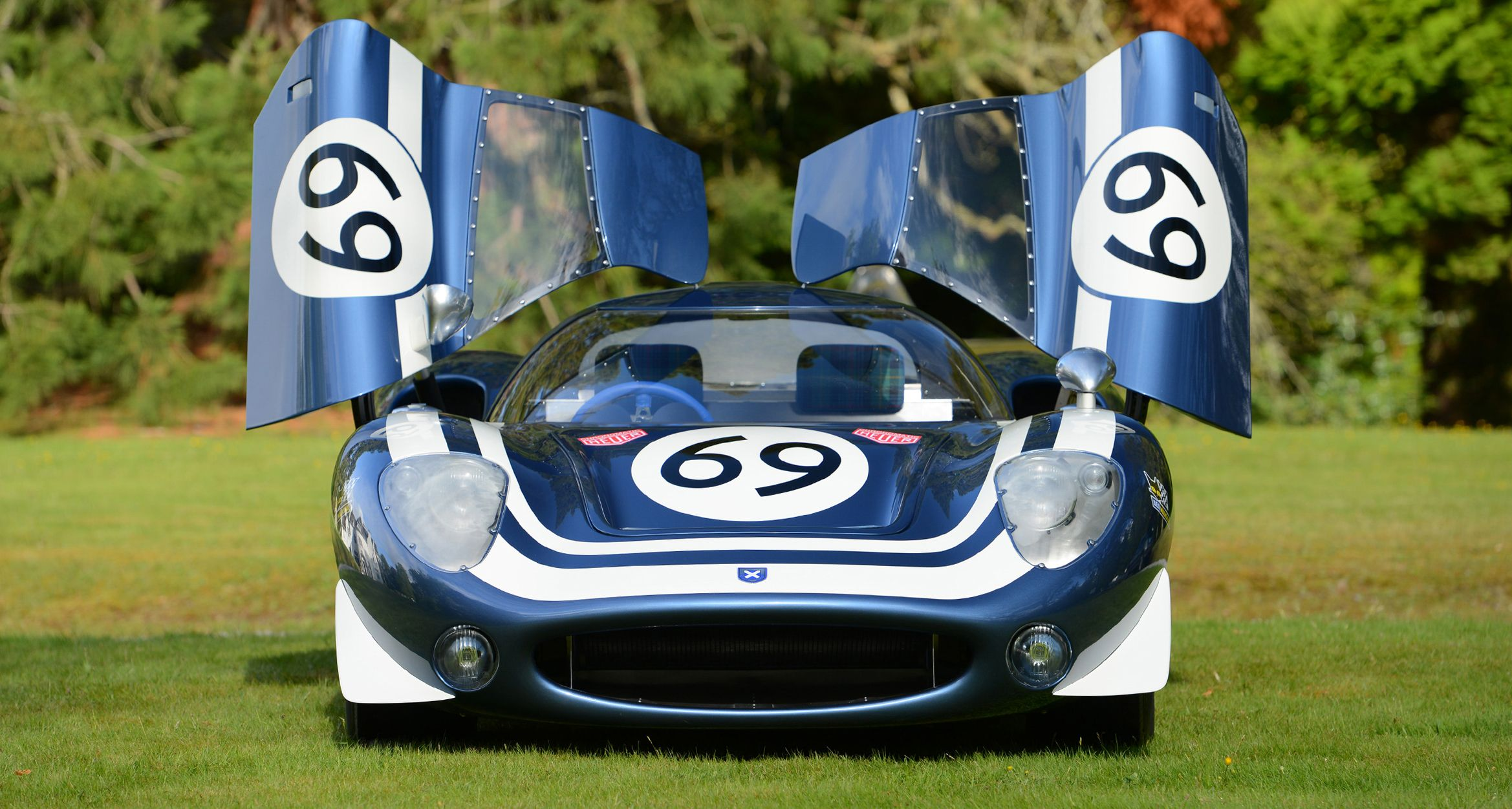 Gorgeous Jaguar XJ13 Le Mans Racing Prototype Reborn and Updated