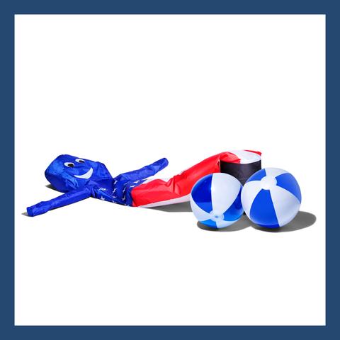 Blue, Cobalt blue, Electric blue, Footwear,