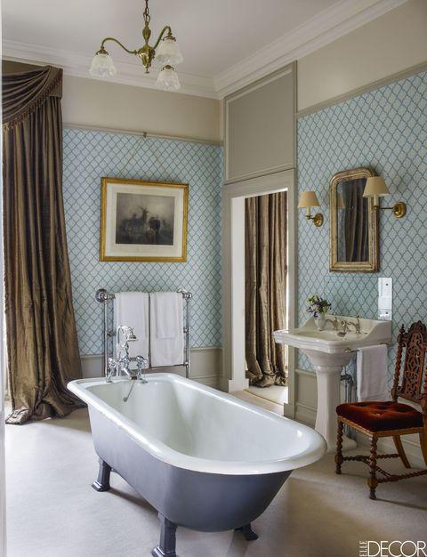 48 Blue Bathrooms Ideas Blue Bathroom Decor Classy Blue Bathrooms
