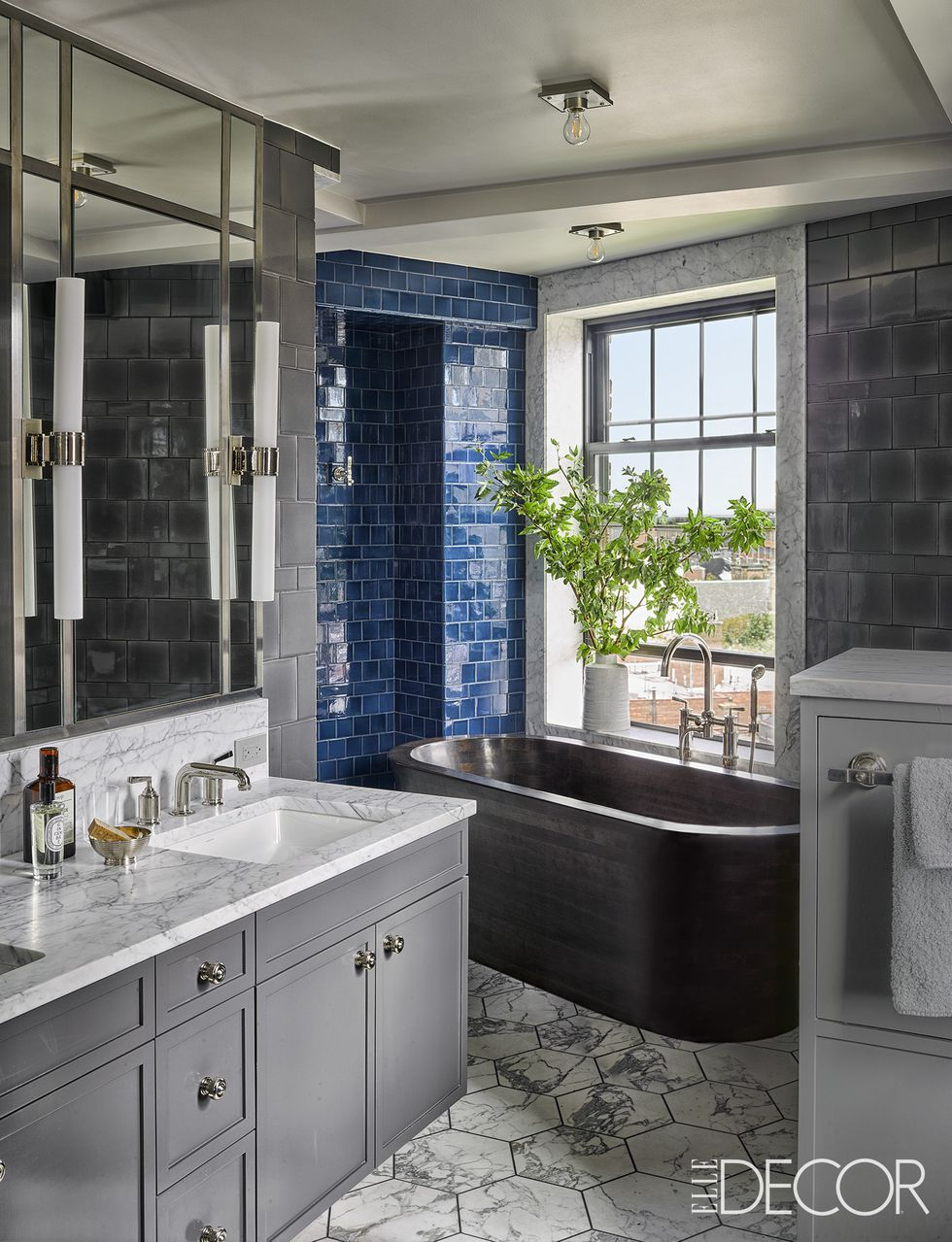 13 Blue Bathrooms Ideas - Blue Bathroom Decor Small Bathroom Designs Gray Blue on blue gray bathroom color schemes, blue gray bathroom cabinets, blue gray tile bathroom, blue gray kitchen ideas, blue gray living room decorating ideas,