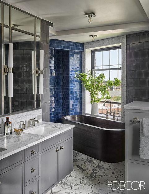 Blue And Grey Bathroom Decor.13 Blue Bathrooms Ideas Blue Bathroom Decor