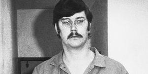 Ed Kemper in prison uniform during preliminary hearings