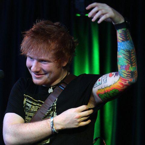 Ed Sheeran Q102 Studio Session
