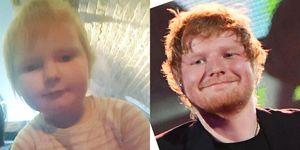 ed sheeran toddler
