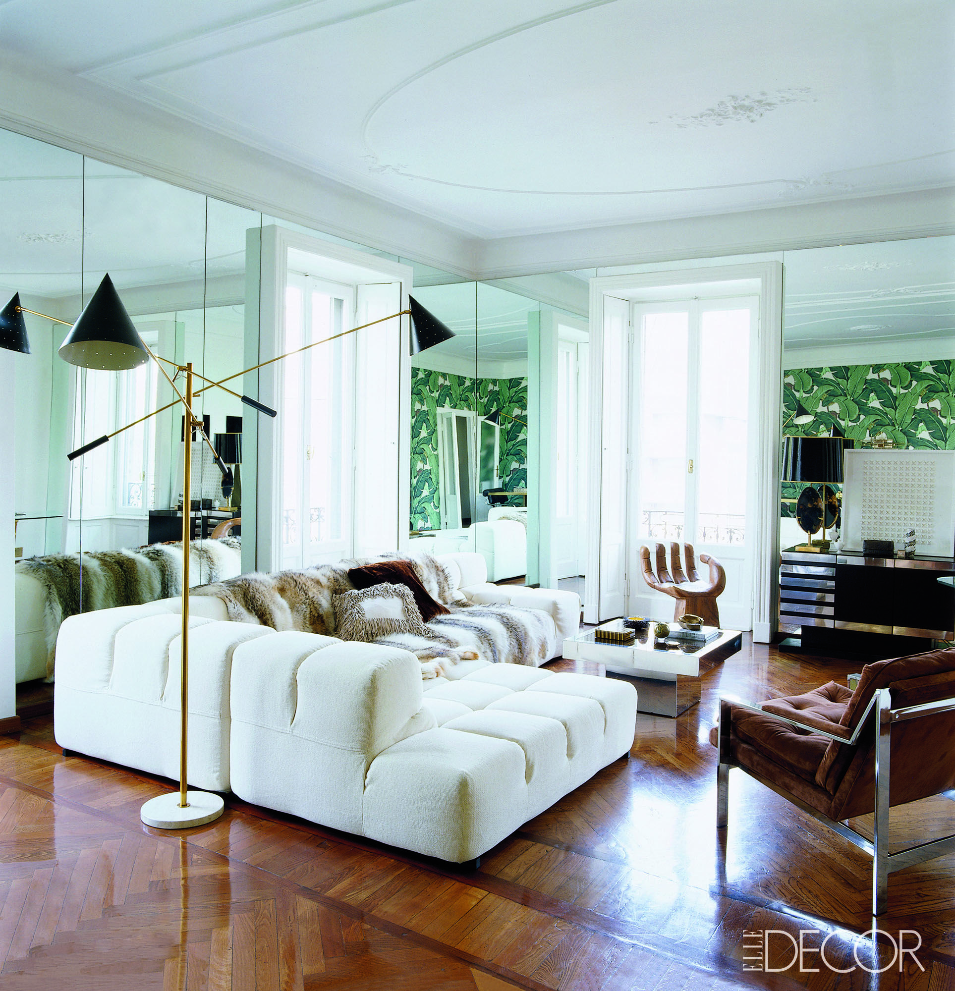 Perfect Midcentury   Living Rooms