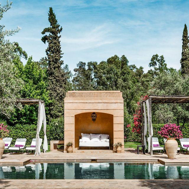 villa tamazerte, bab adrar, marrakech  photo by alan keohane wwwstill imagesnet