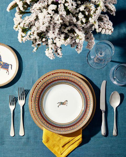 Sheila Bridges Dinner Party Elle Decor