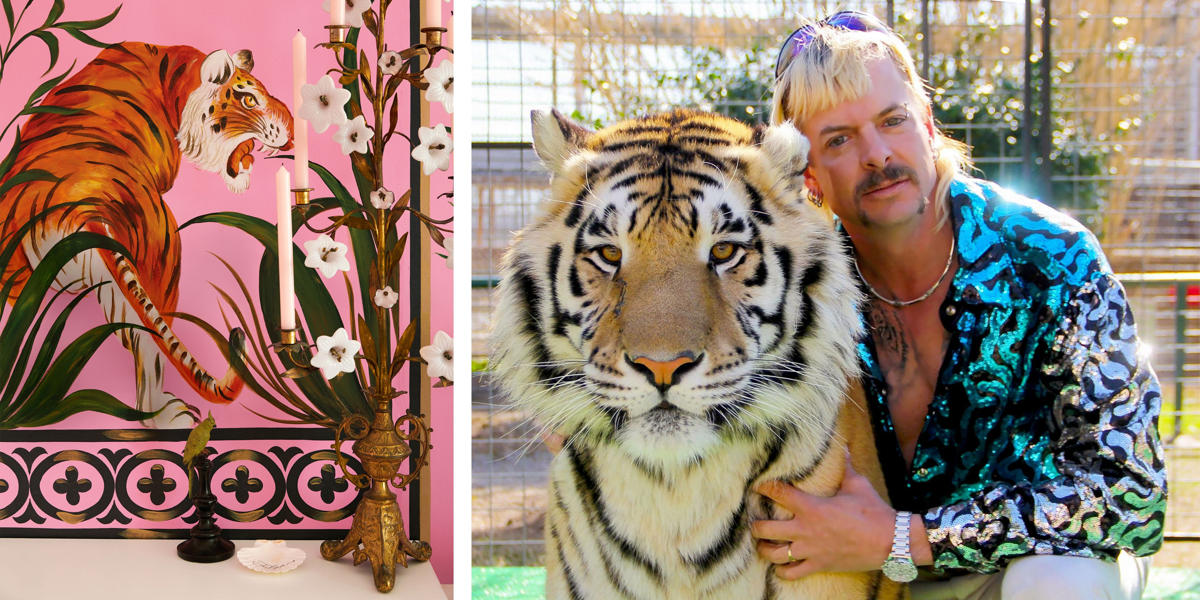 """Home Decor Inspired by """"Tiger King,"""" Netflix's Runaway Hit"""