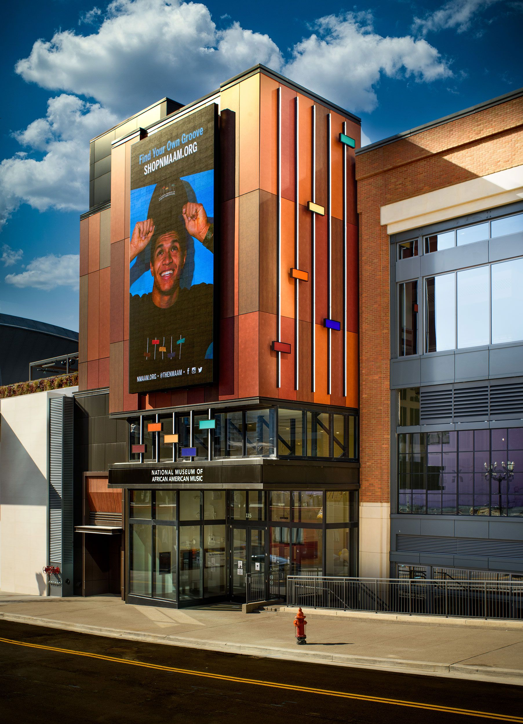 Rhythm Infuses the Design of This New Nashville Museum