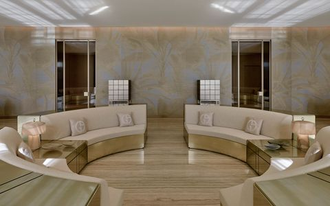 Room, Interior design, Property, Living room, Furniture, Building, Ceiling, Suite, Floor, Architecture,