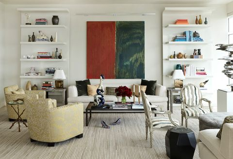 david kleinberg design associates living room of manhattan project