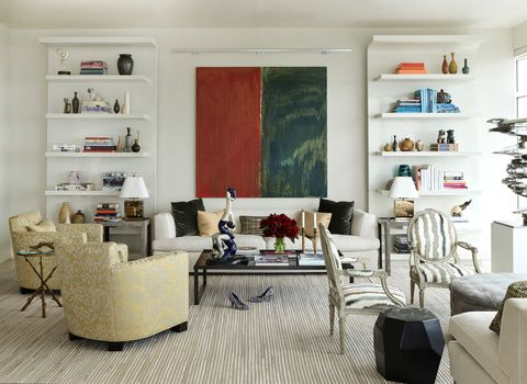 david kleinberg design associates living room of manhattan project