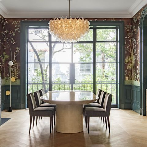 Room, Property, Interior design, Dining room, Furniture, Building, Ceiling, House, Floor, Wall,