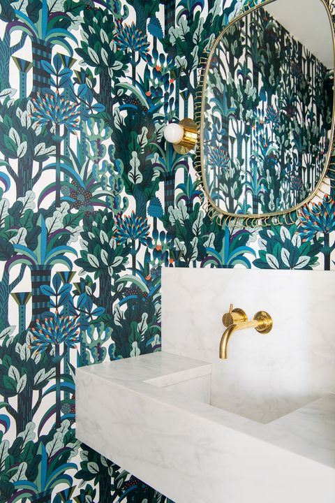 Turquoise, Blue, Aqua, Room, Teal, Wallpaper, Interior design, Wall, Pattern, Design,