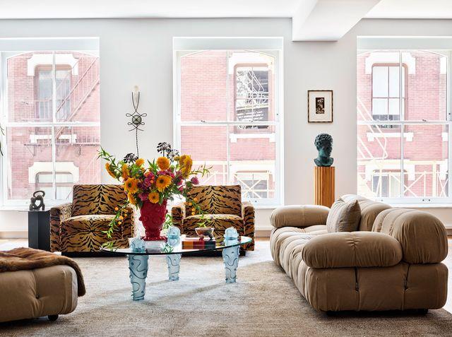 jessie schuster soho apartment living room