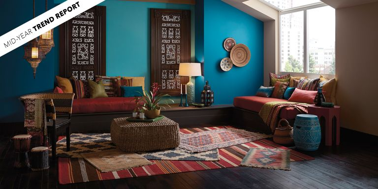 The Biggest Color Trends Of 2017 So Far - Interior Design Color Trends