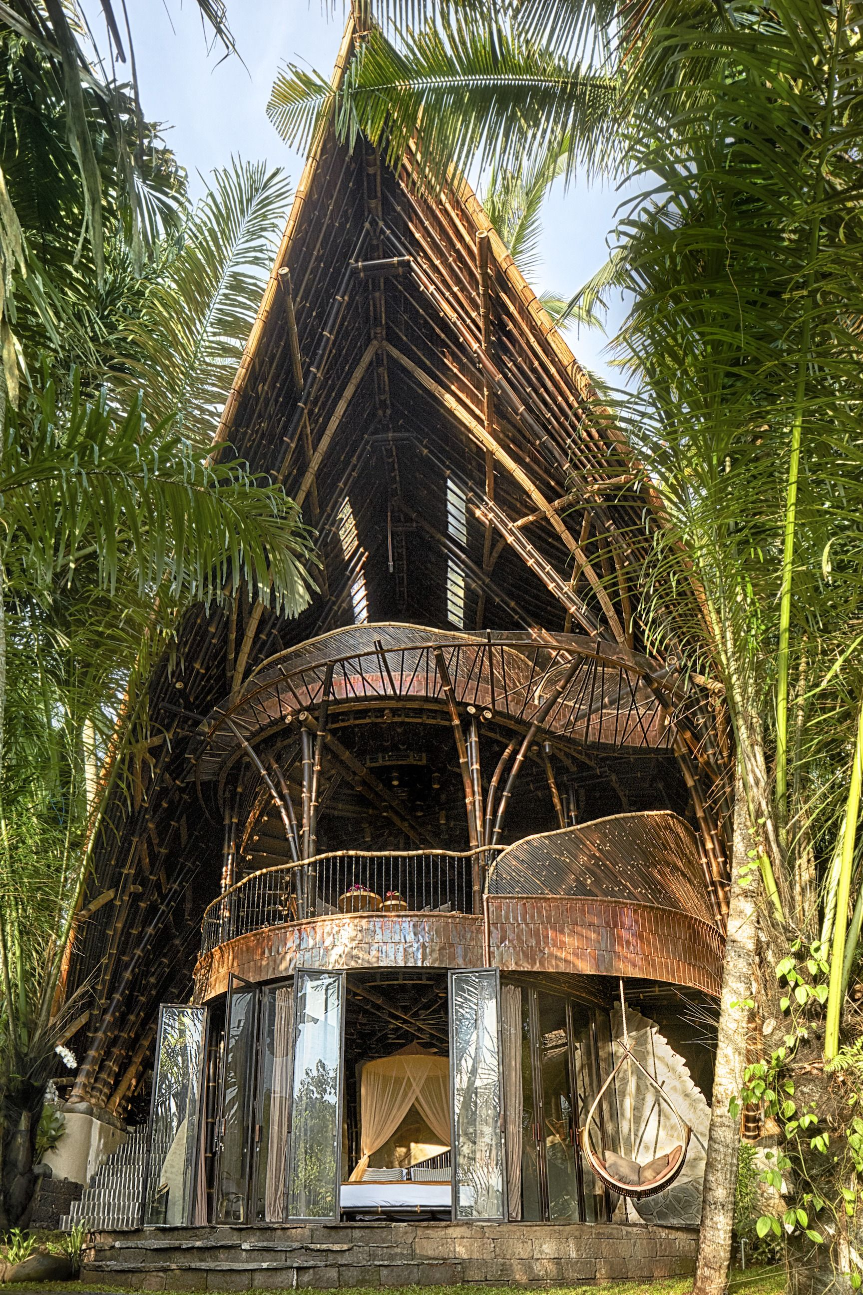 Bamboo Villa in Indonesia