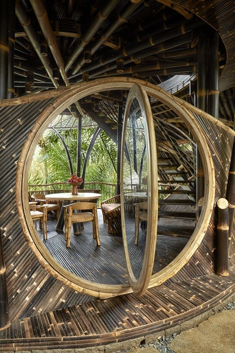 Bamboo Villa in Indonesia