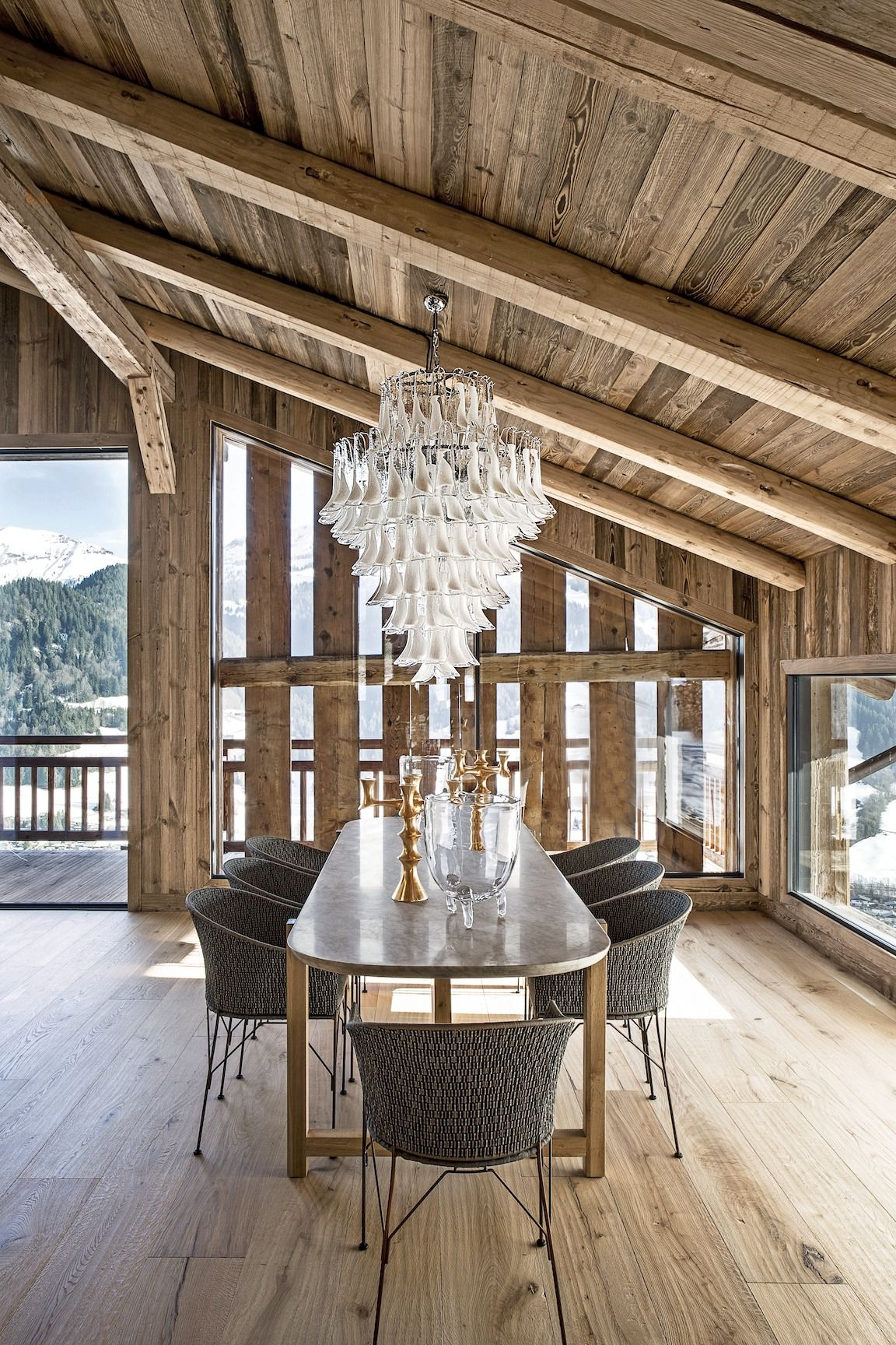 Wood Chalet France Home Tour