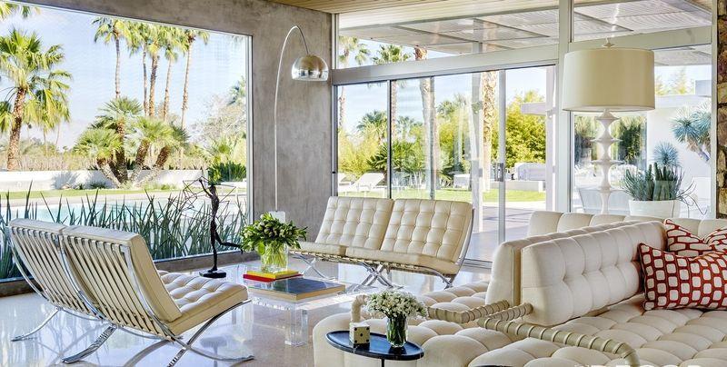 mid-century modern lighting & 25 Mid Century Modern Living Rooms - Best Mid Century Decor