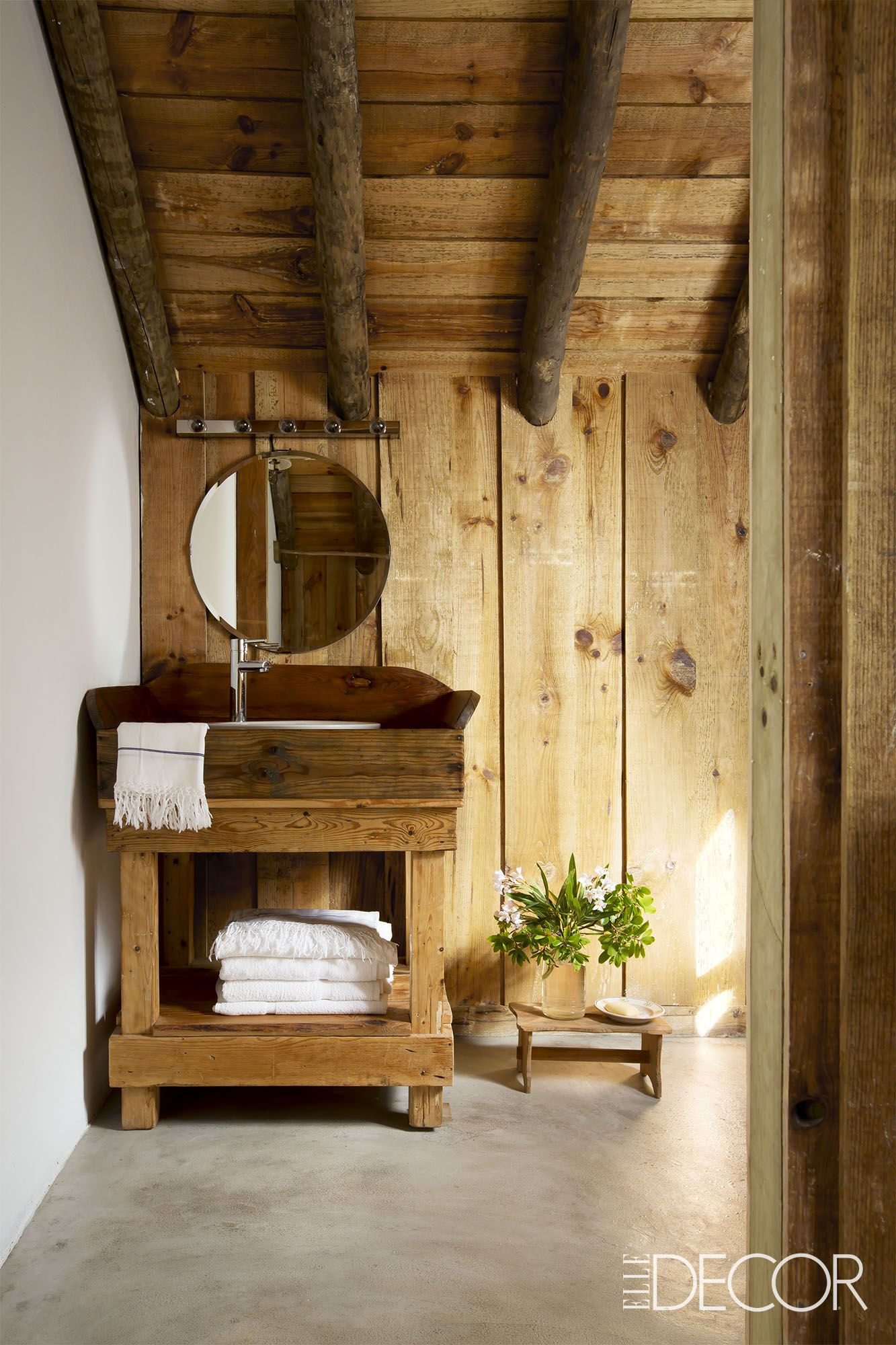 rustic bathroom - rustic bathroom decor