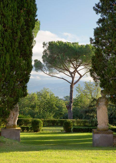 villa tavernaccia outside of florence, italy